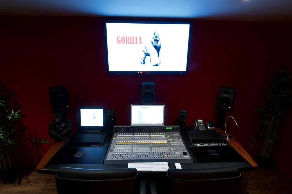 Gorilla Audio Studio
